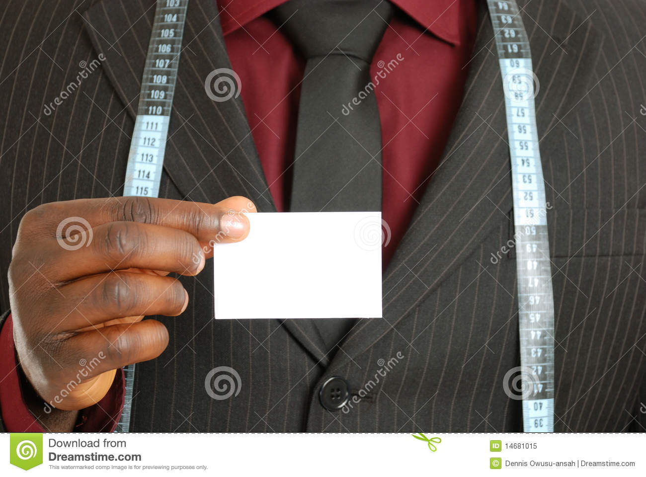 Tailor business man with card stock image image 14681015 tailor business man with card magicingreecefo Image collections