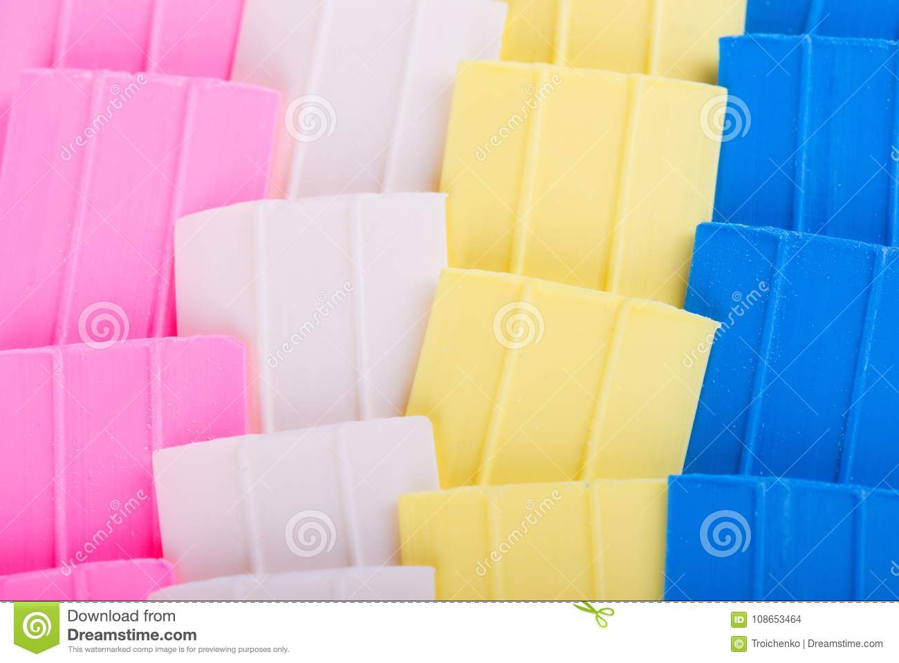 tailor chalk colorful chalk for sewing background of colored chalk