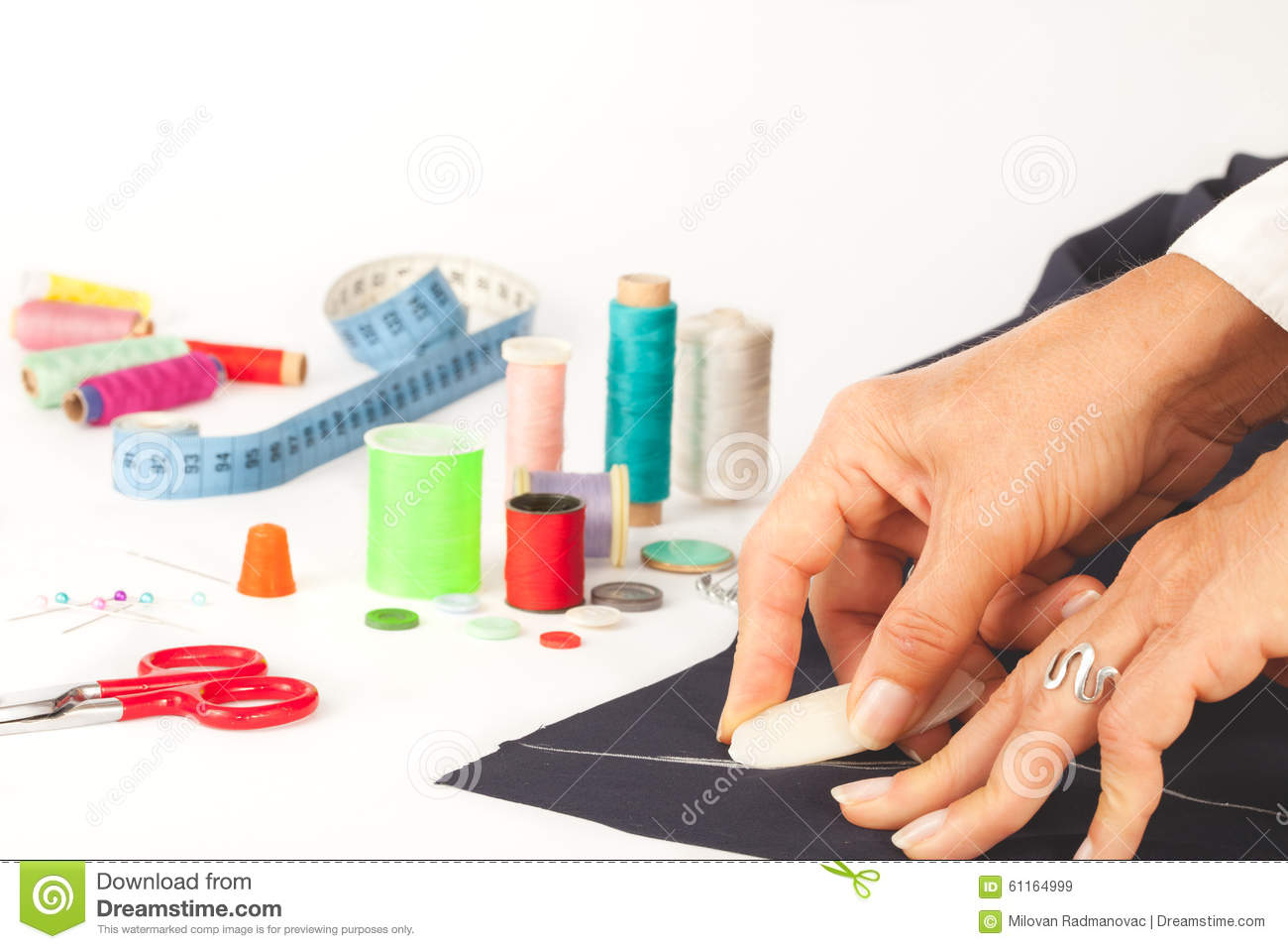 Clothes Designing | Tailor Designing Clothes Stock Illustration Illustration Of Action