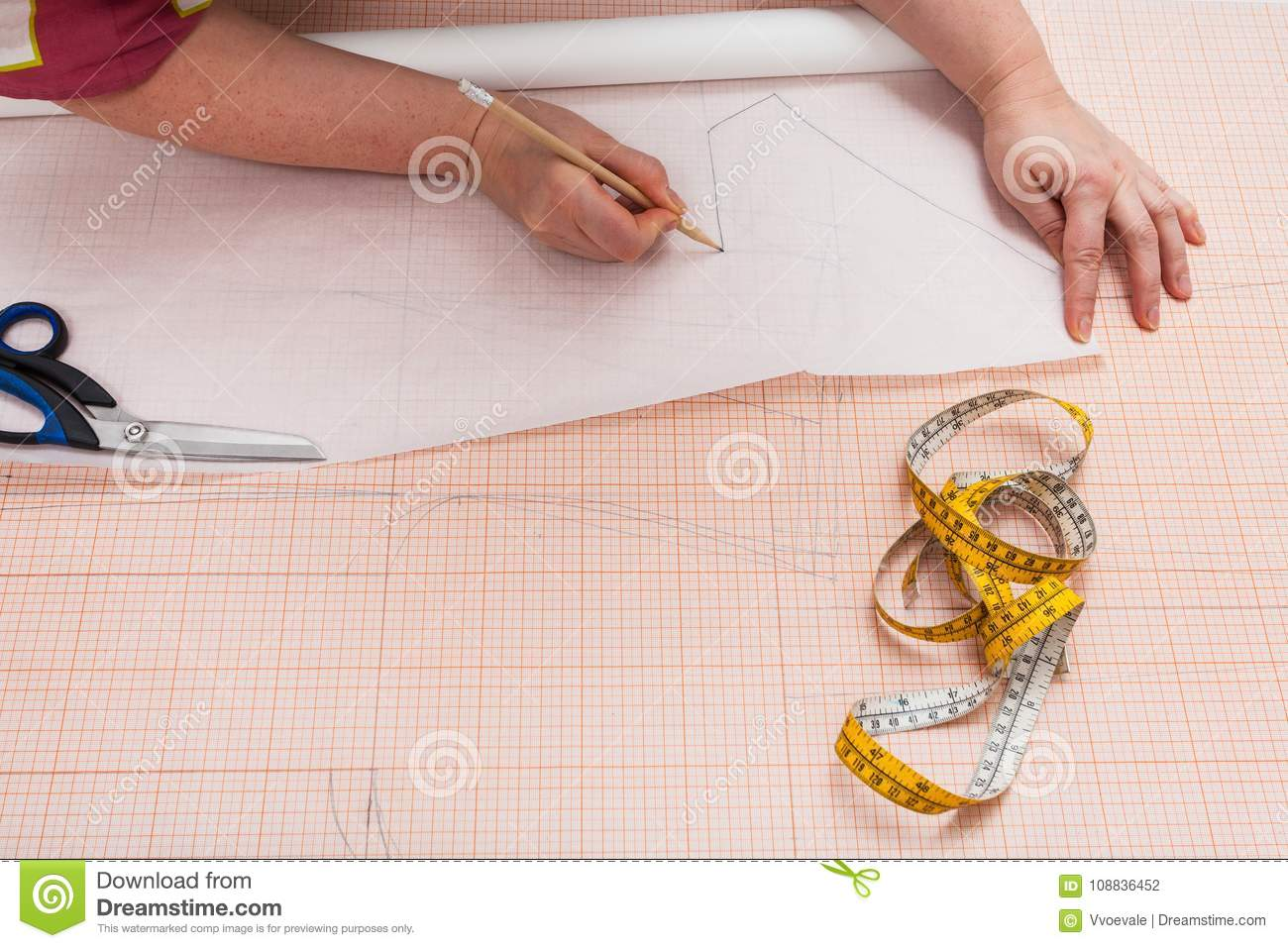 Pattern Tracing Paper Interesting Decoration