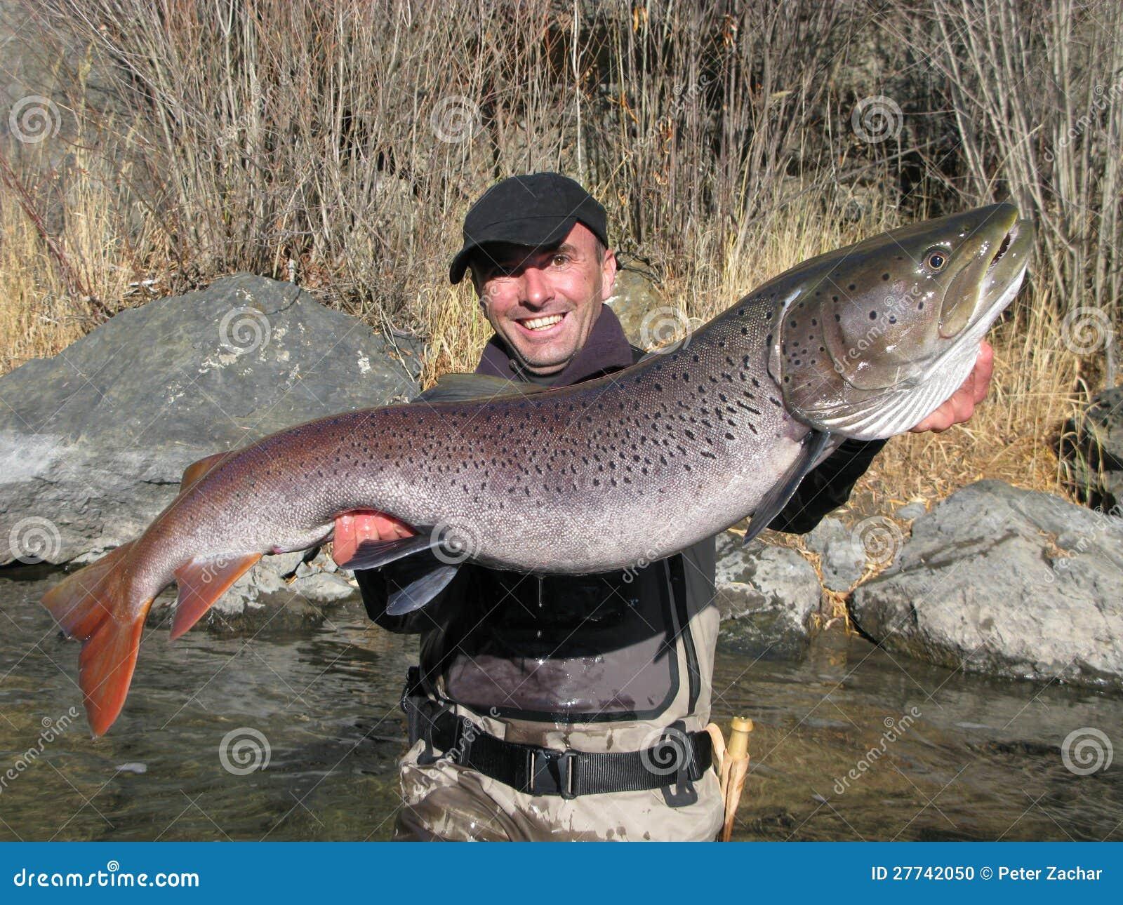 Taimen fishing in mongolia stock photo image 27742050 for Big 5 fishing license