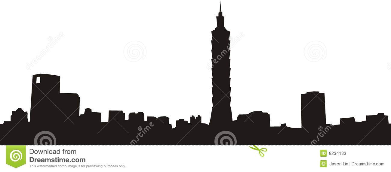Taipei 101 And City Stock Photos - Image: 8234133