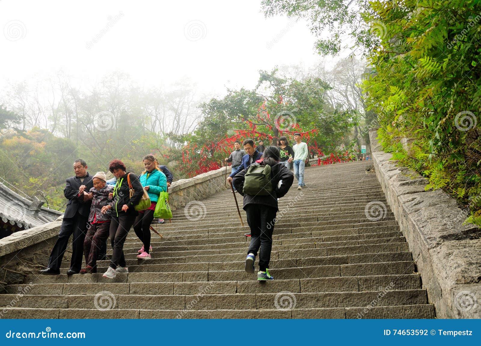 Taishan turyści