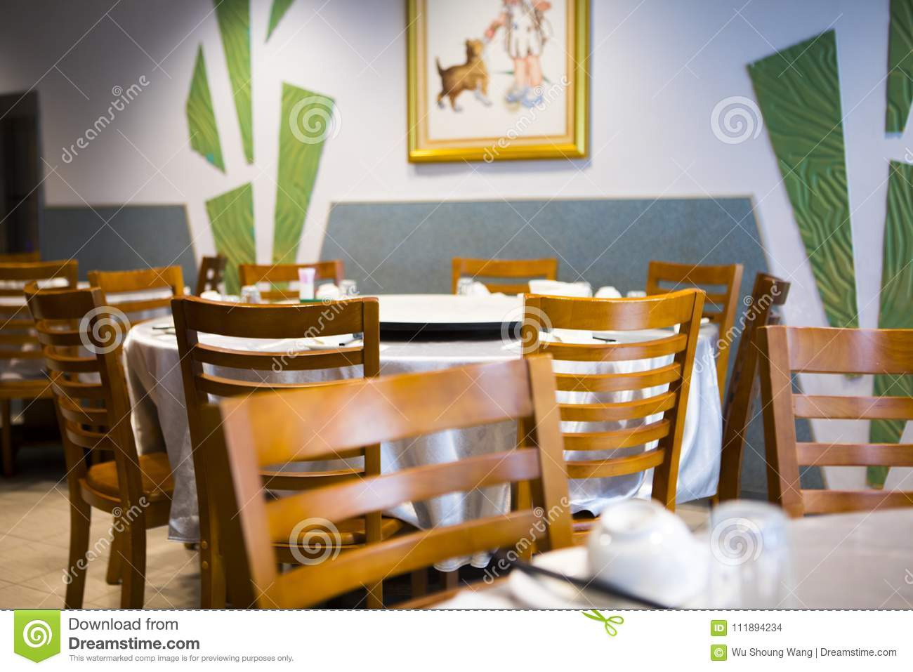 Taiwan Seafood Restaurant Restaurant Clean And Bright Huang Interior Chinese Restaurant Stock Photo Image Of Fresh Delicate 111894234