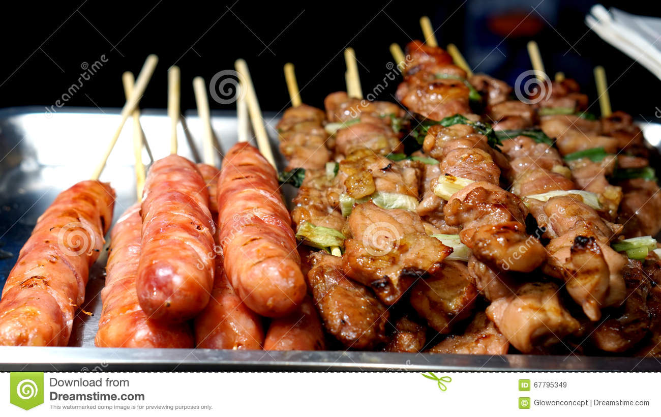 Taiwanese aboriginal cuisine pork sausage and barbeque for Aboriginal cuisine