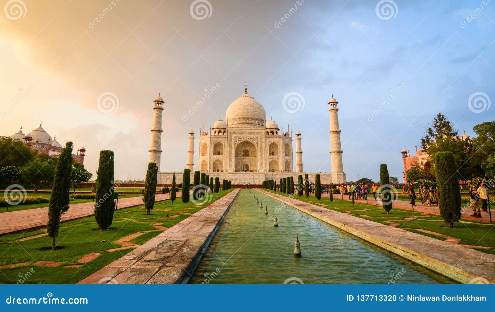Taj Mahal à Agra, Inde