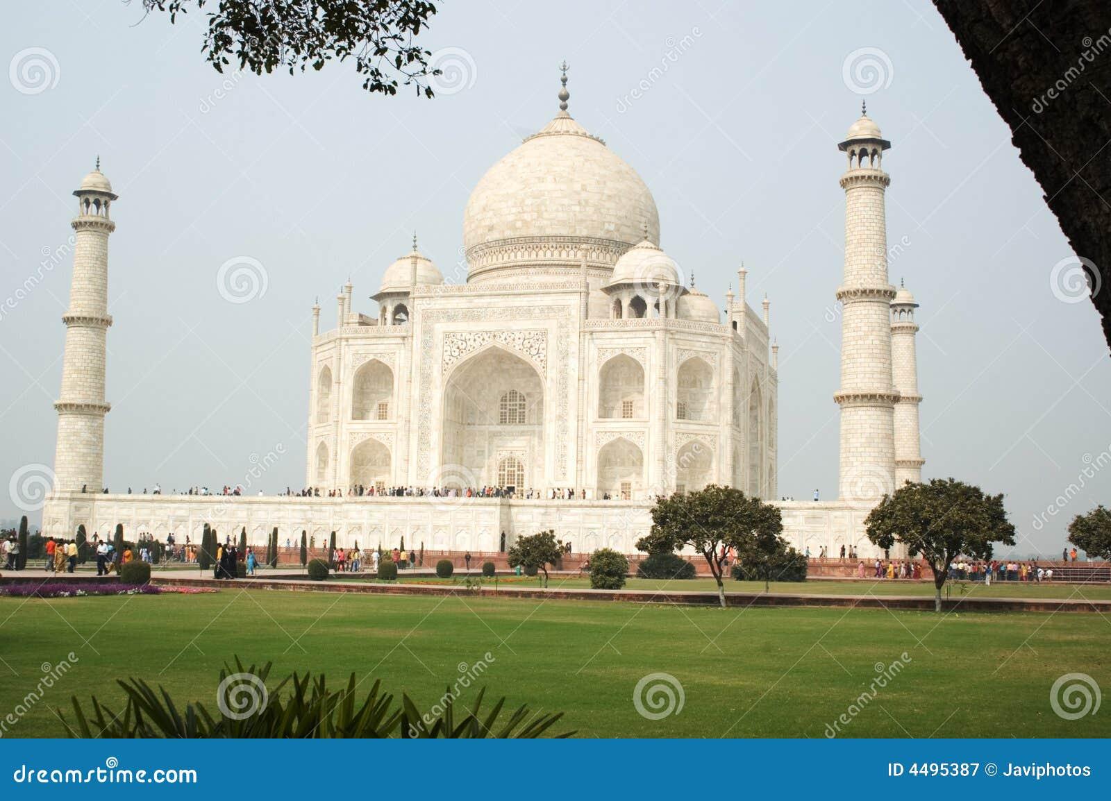 Taj Mahal Pictures Scenic Travel Photos: Taj Mahal Agra India Royalty Free Stock Photography