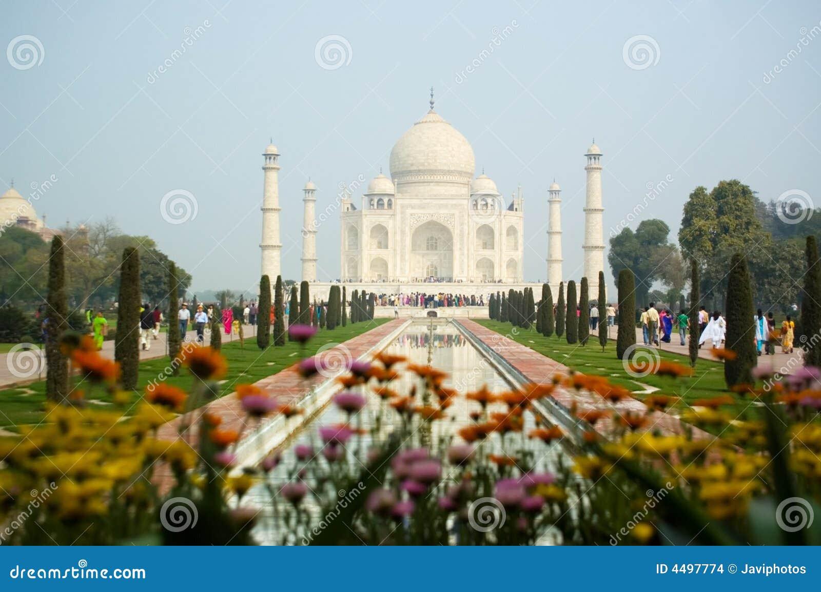 Taj Mahal Pictures Scenic Travel Photos: Taj Mahal Agra India Stock Images