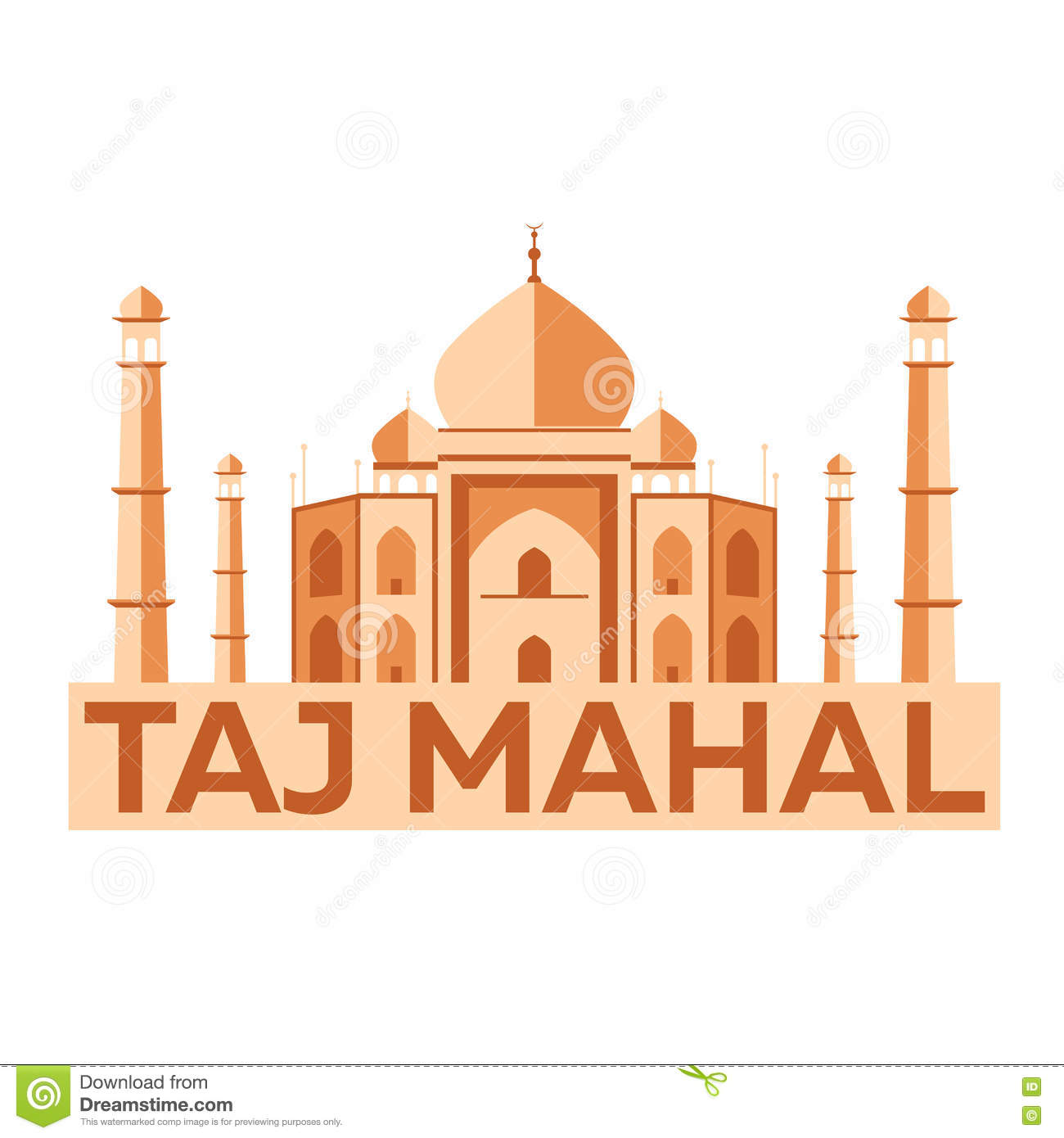 Modern Indian Architecture Google Search: Taj Mahal. Agra. Indian Architecture. Modern Flat Design