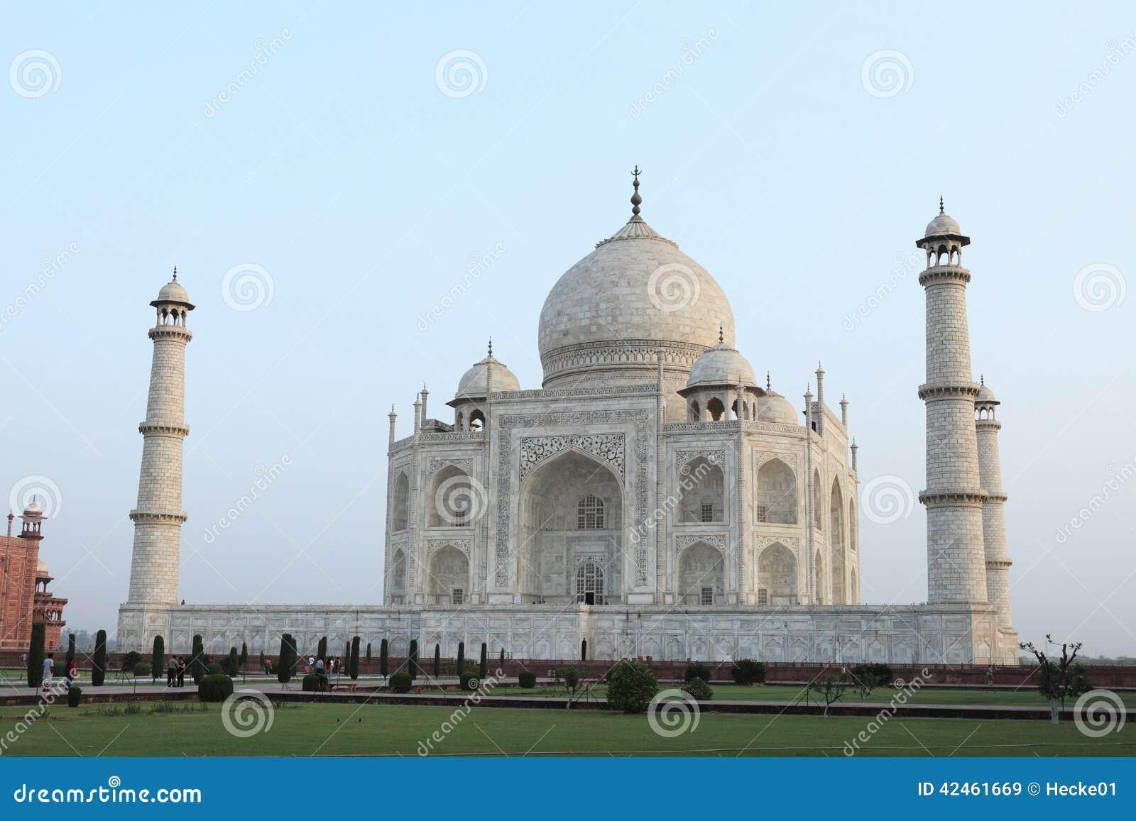Taj Mahal in Agra Indien