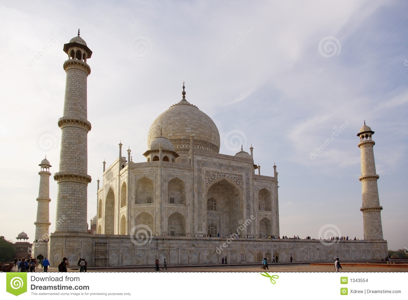 Taj Mahal Close Up Stock Images Image 1343554