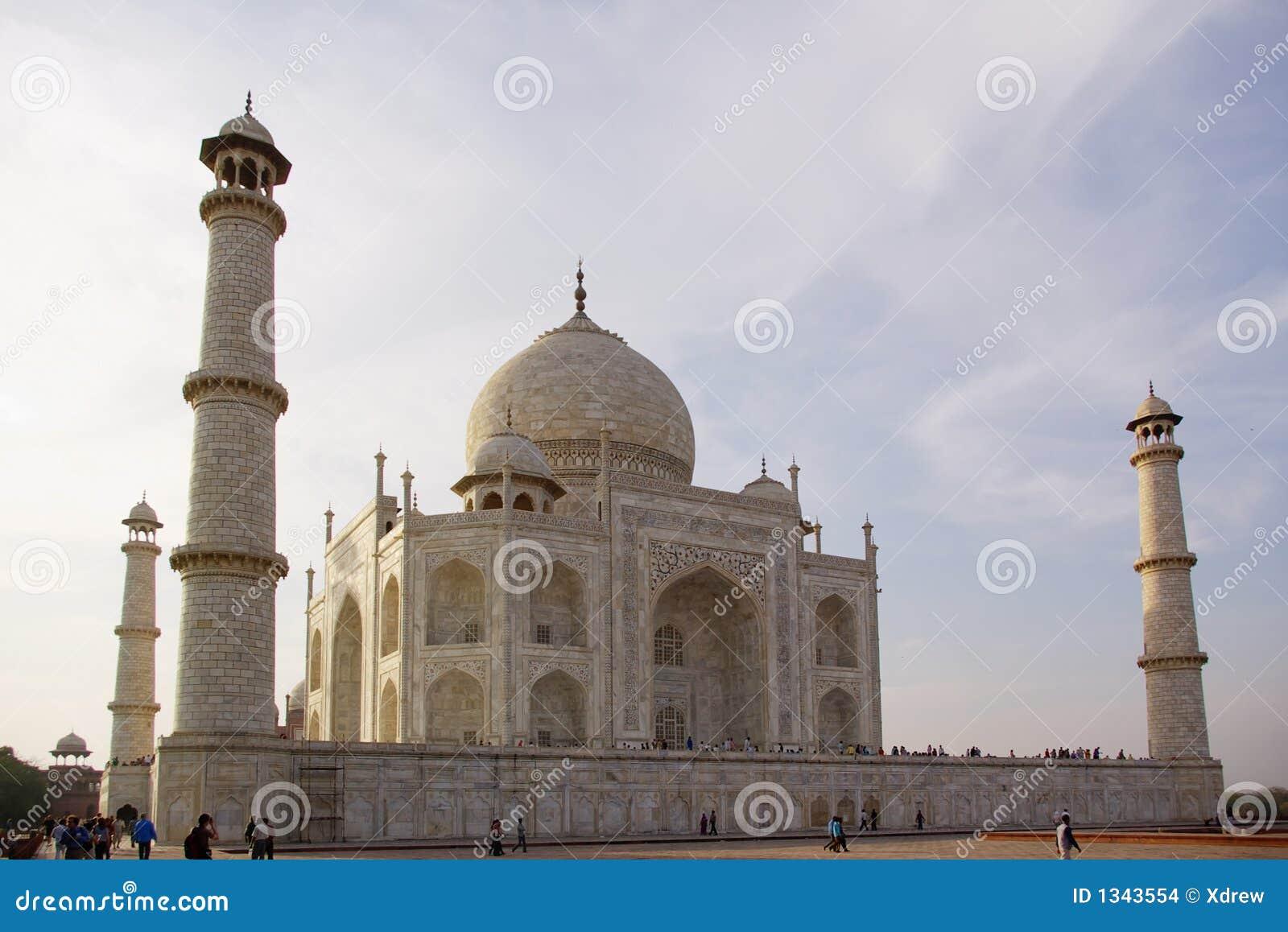 Taj Mahal Close Up Stock Images Image 1343554