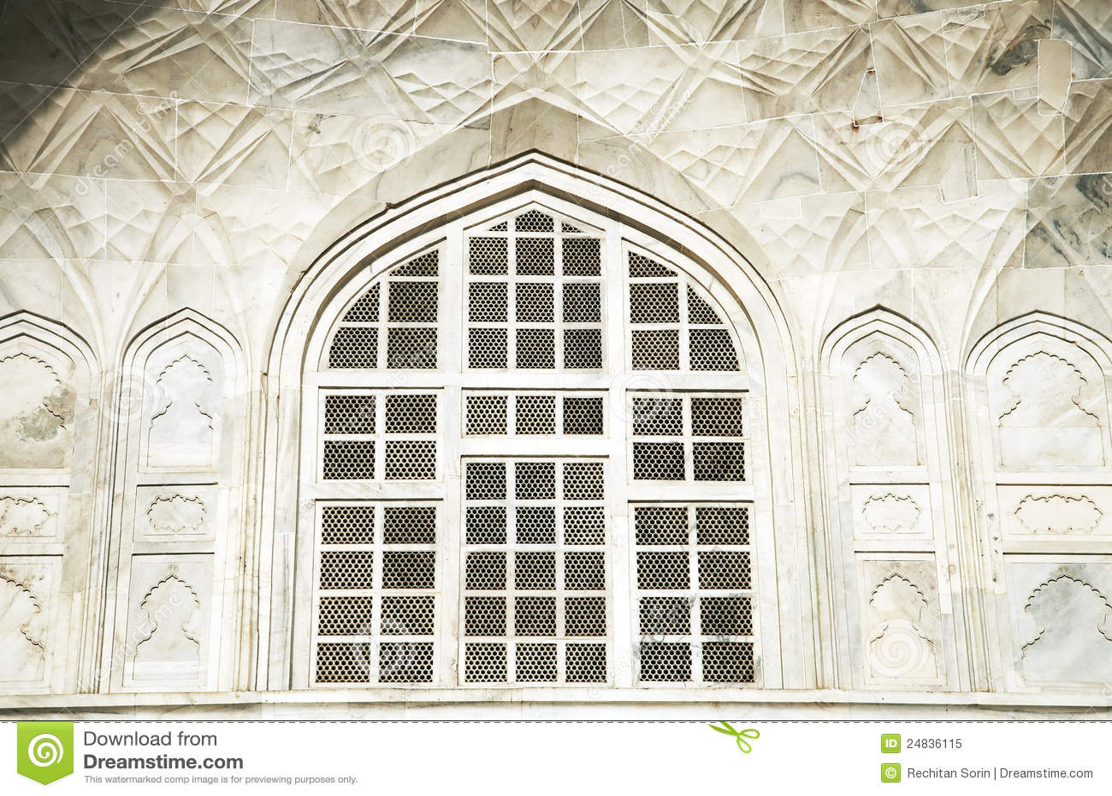 Taj Mahal dans l Inde, Âgrâ