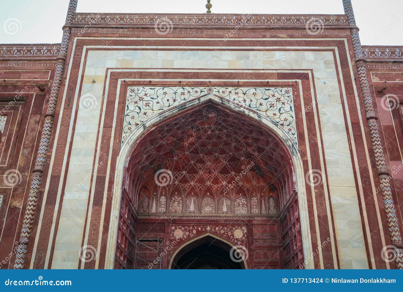 Taj Mahal em Agra, India