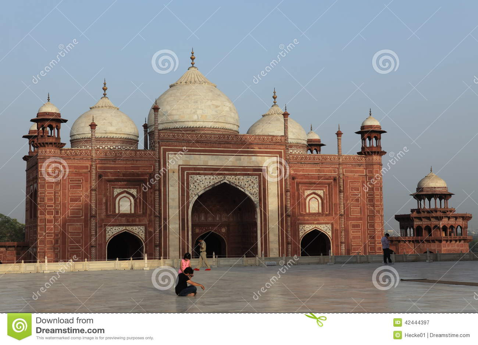 Taj Mahal en Agra la India