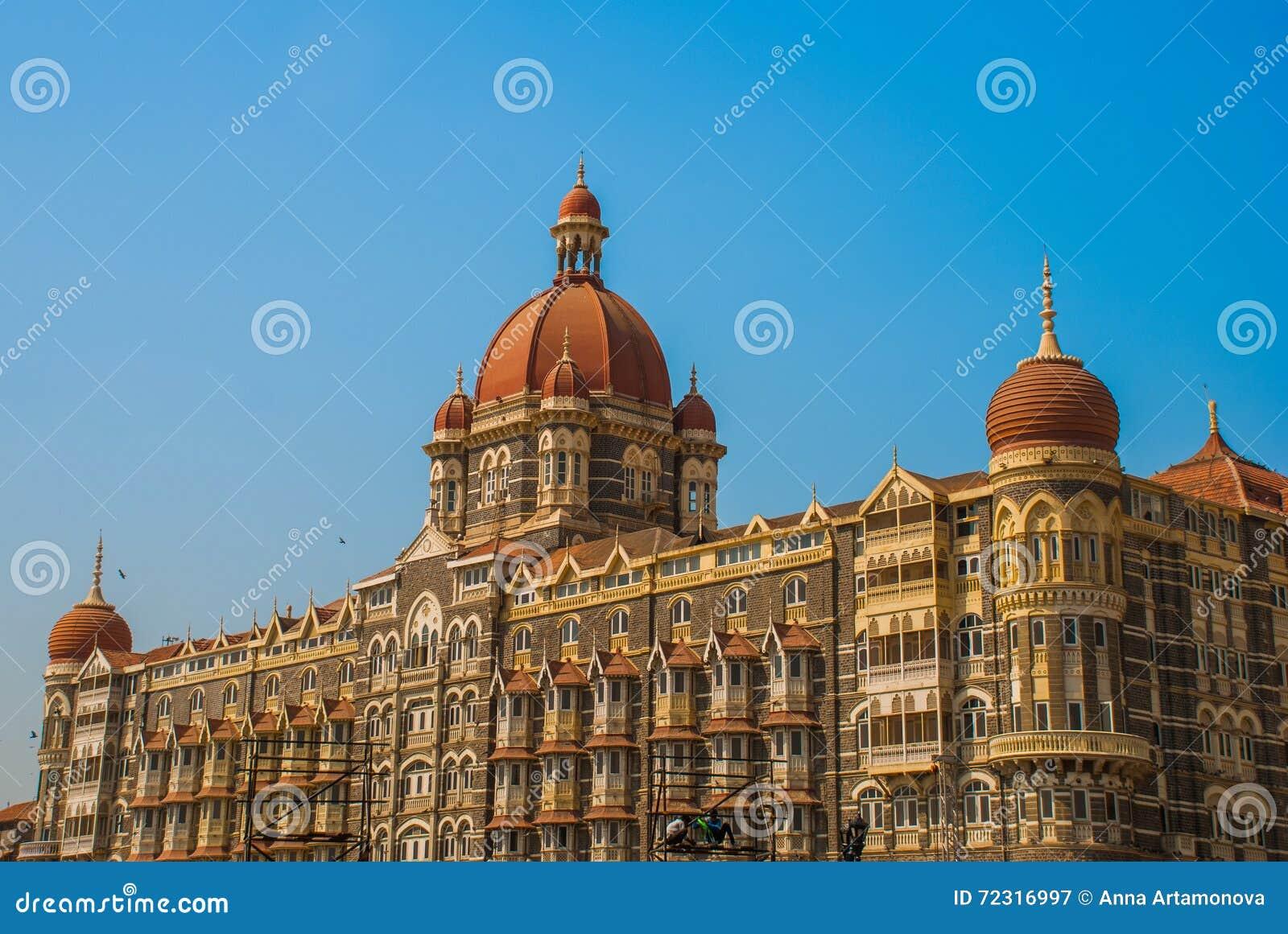 Taj Mahal Hotel  Mumbai, India Stock Image - Image of