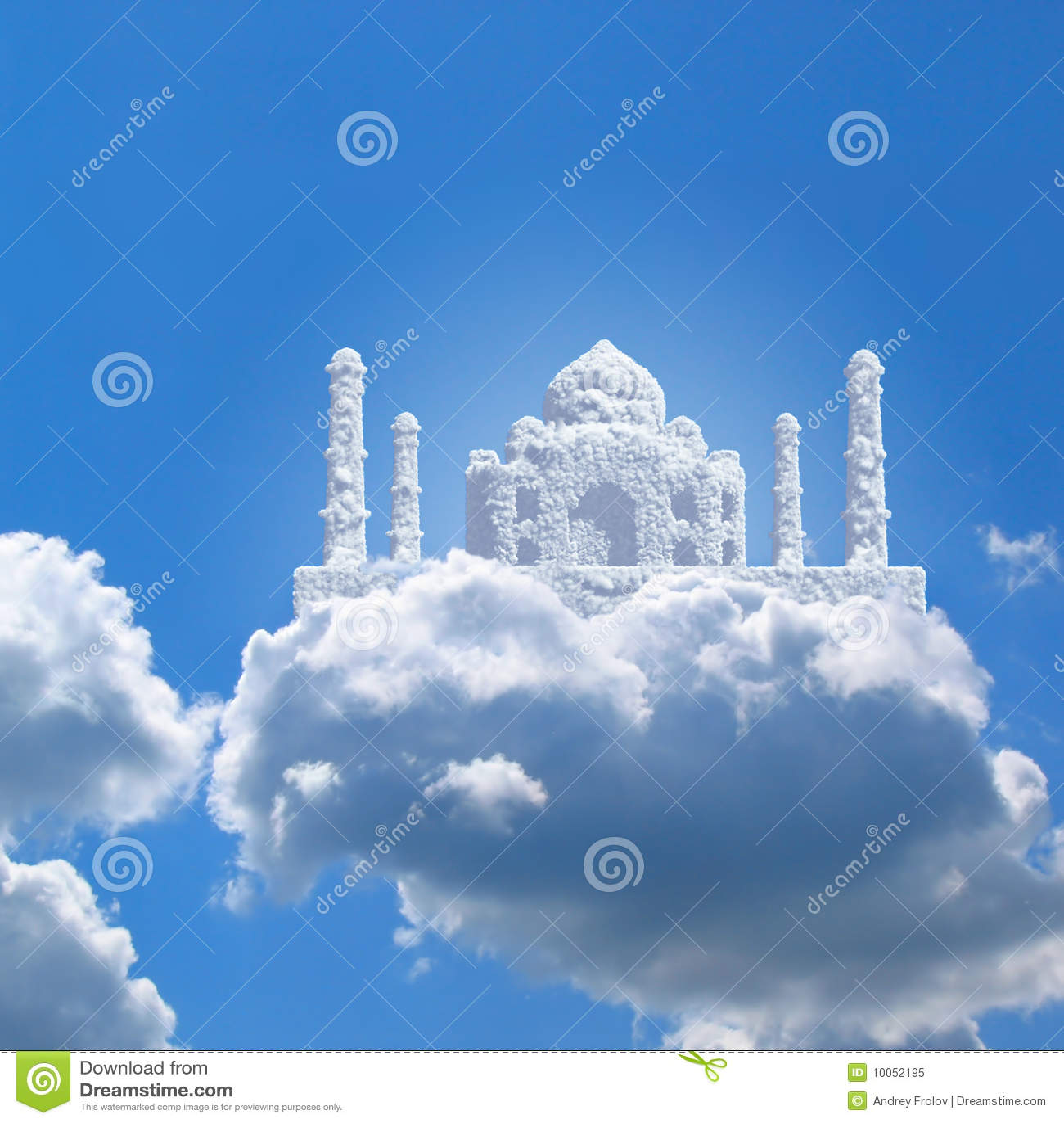 Taj Mahal no céu