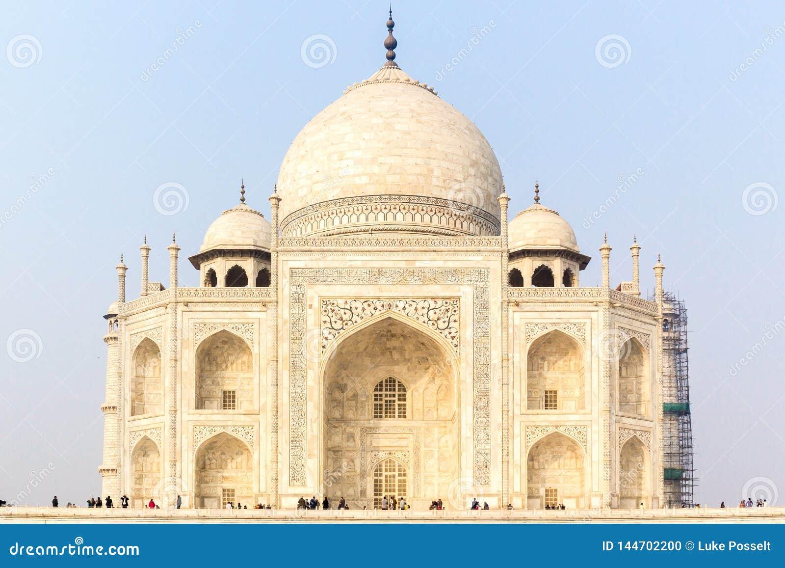 Taj Mahal Sunrise Agra India