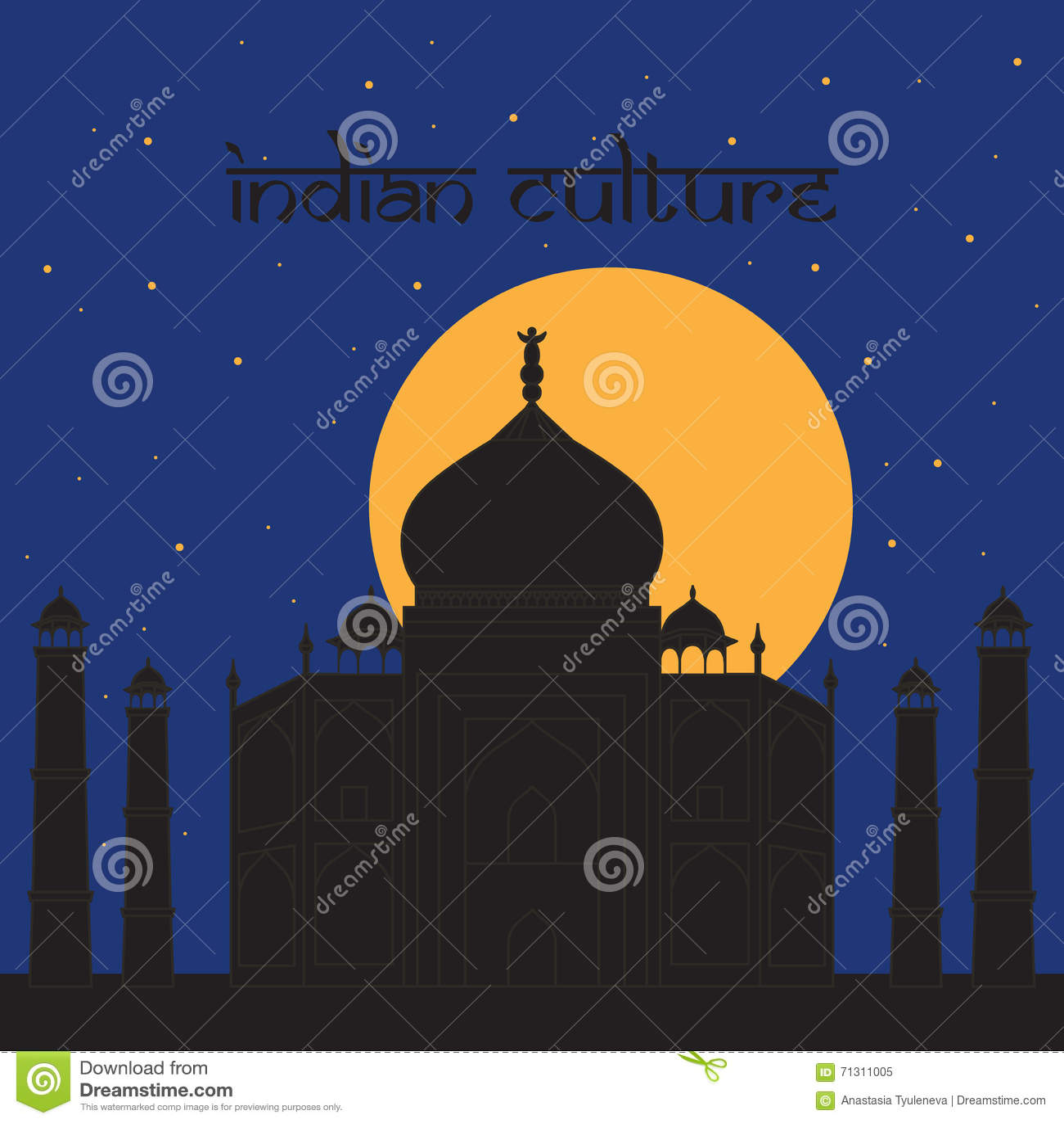 Taj Mahal Temple Landmark in Agra, India Indisch wit marmeren mausoleum, Indische architectuurnacht