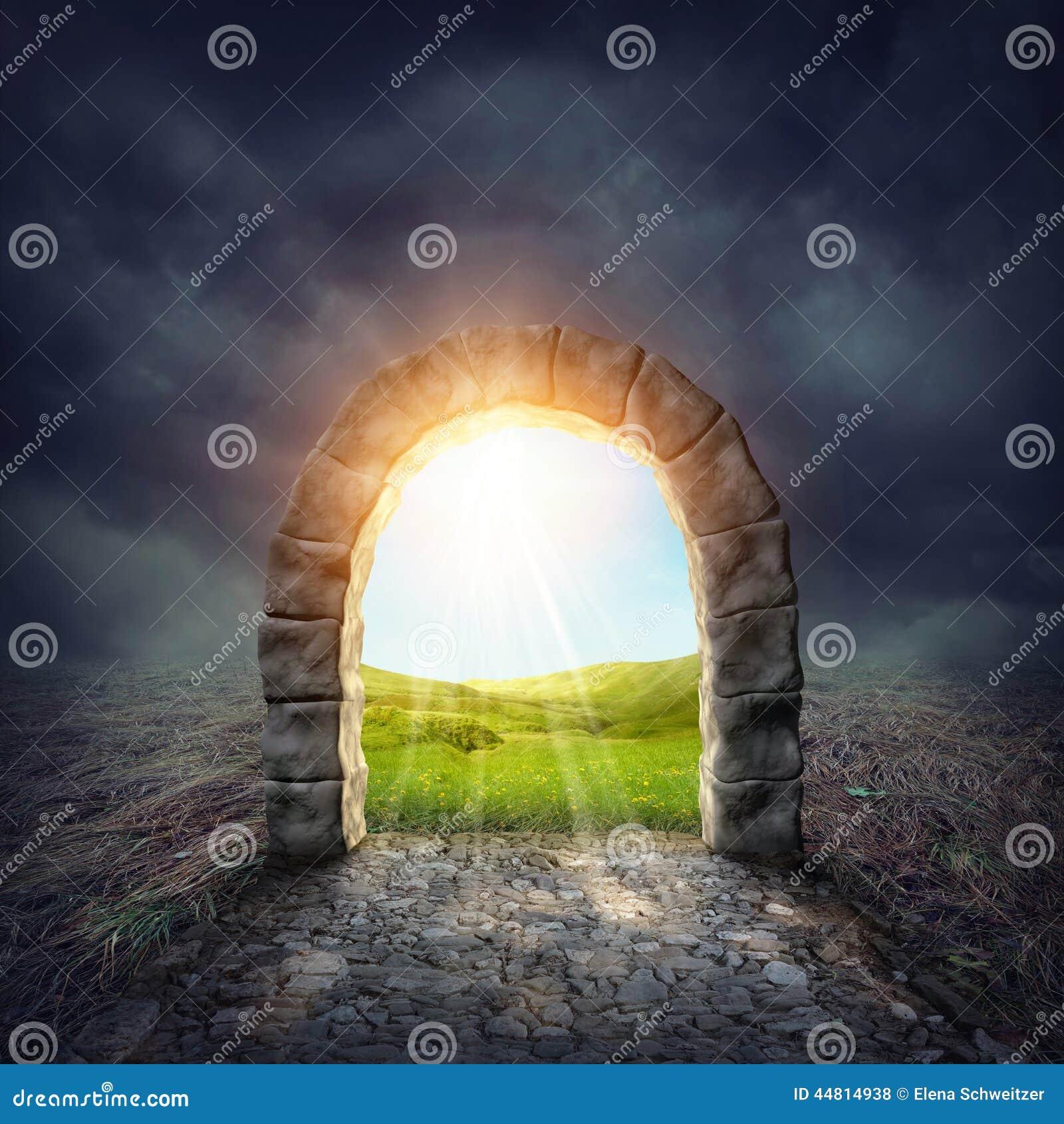 Tajemniczy wejście