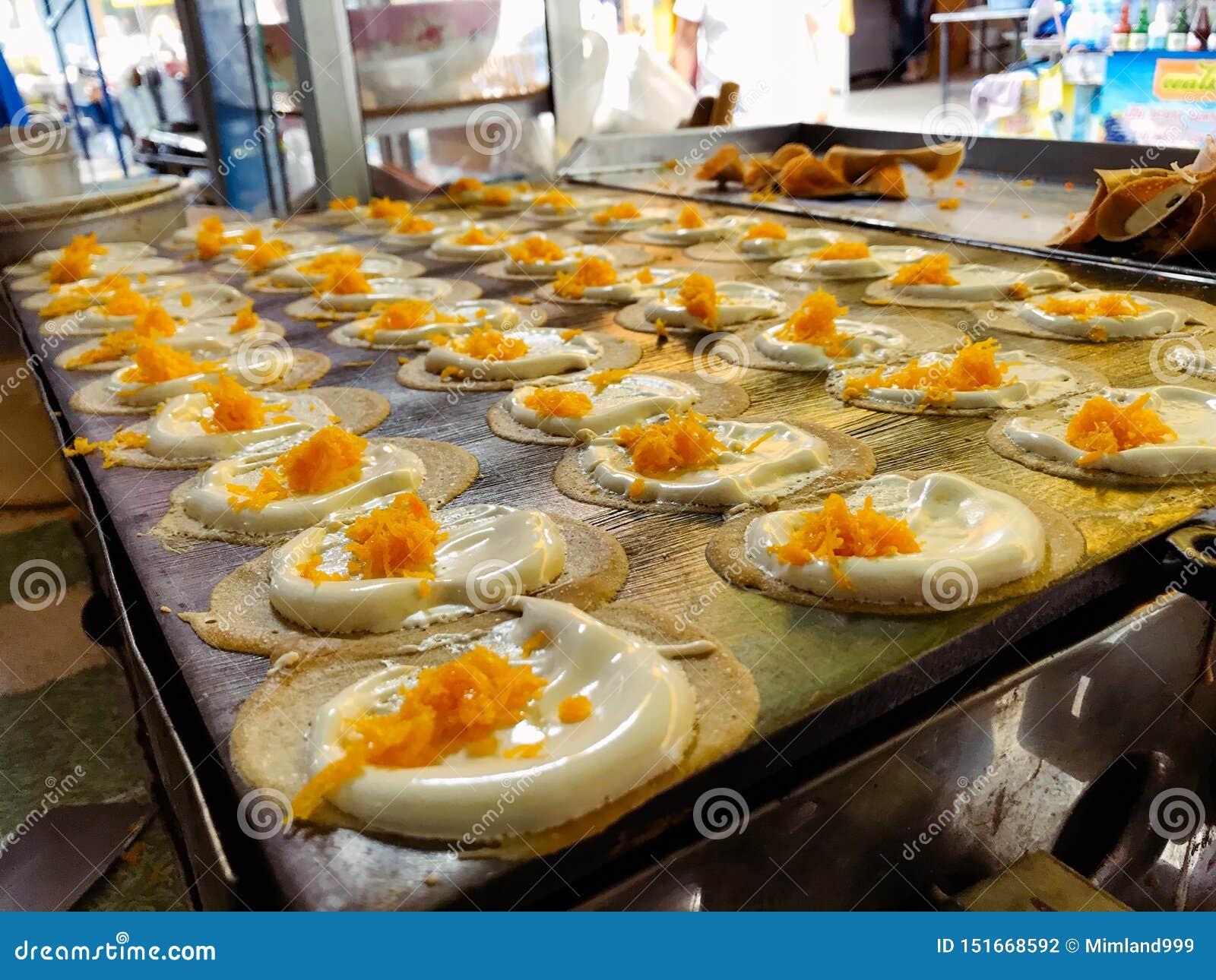 Tajlandzki Crispy blin