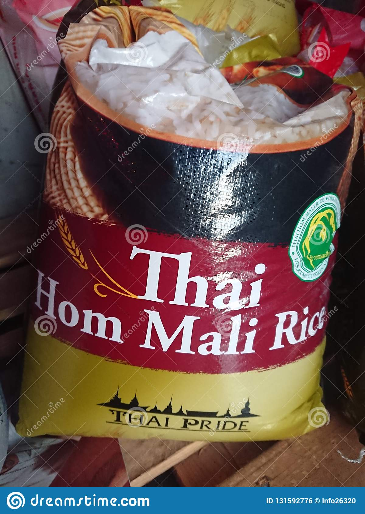 Tajlandzki Rice dla sprzedaży