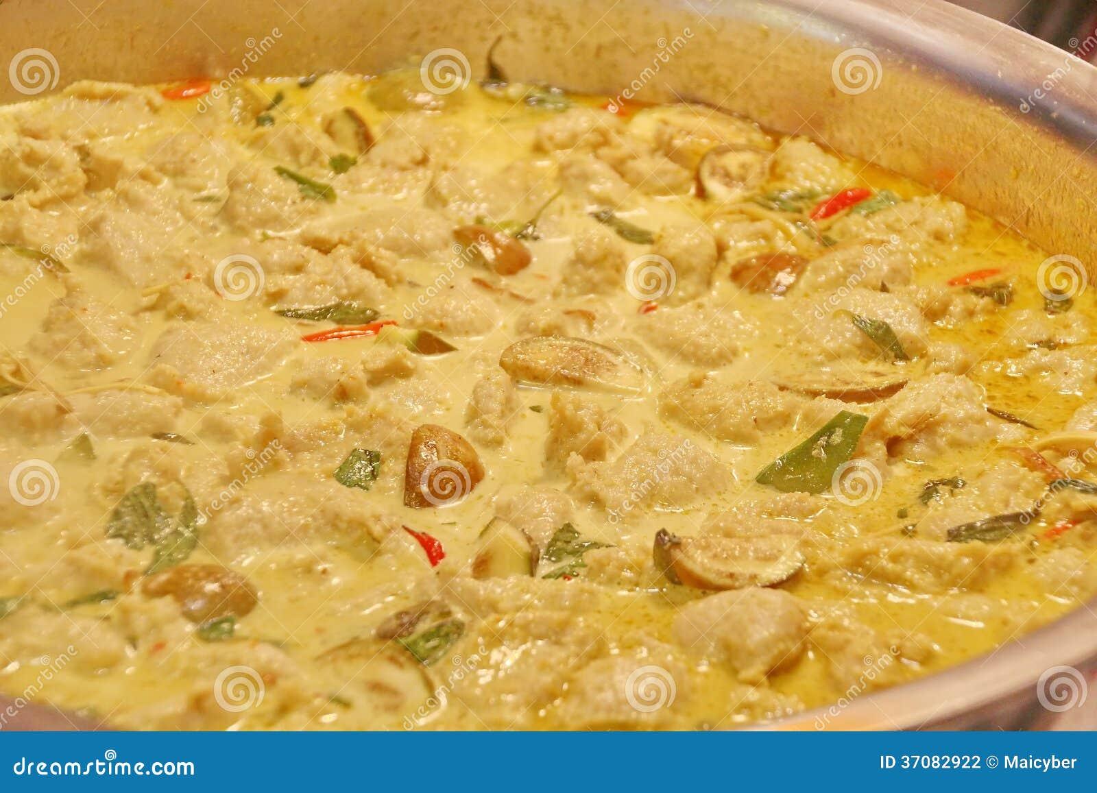 Download Tajlandzki Zielony curry zdjęcie stock. Obraz złożonej z posiłek - 37082922