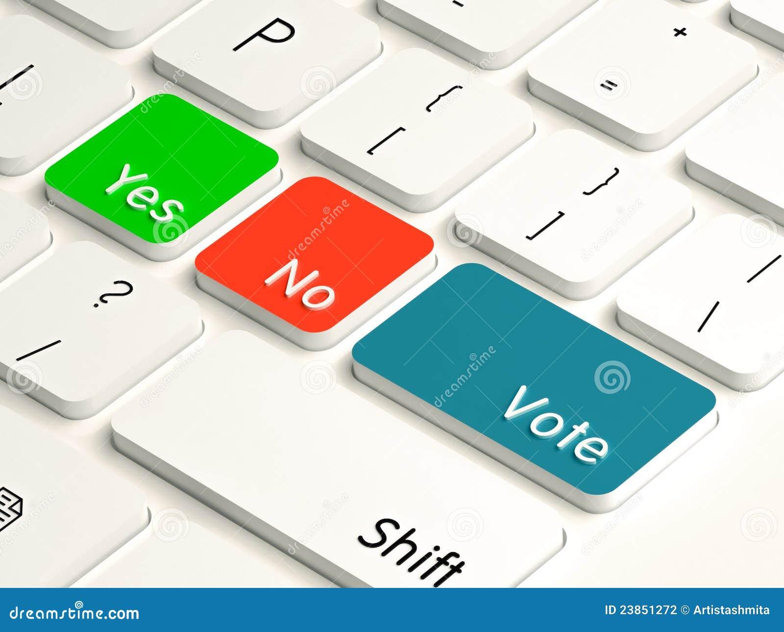 Tak żadny głosowanie