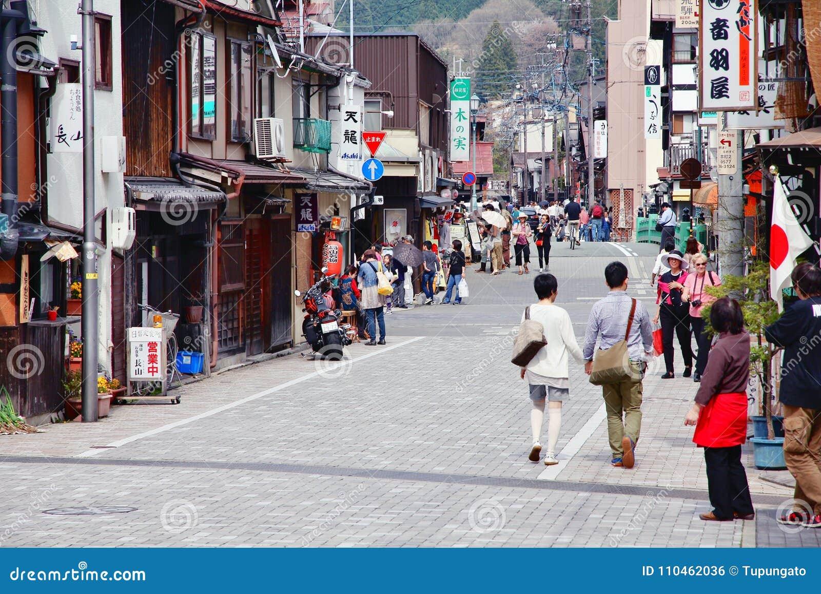 Takayama gammal stad
