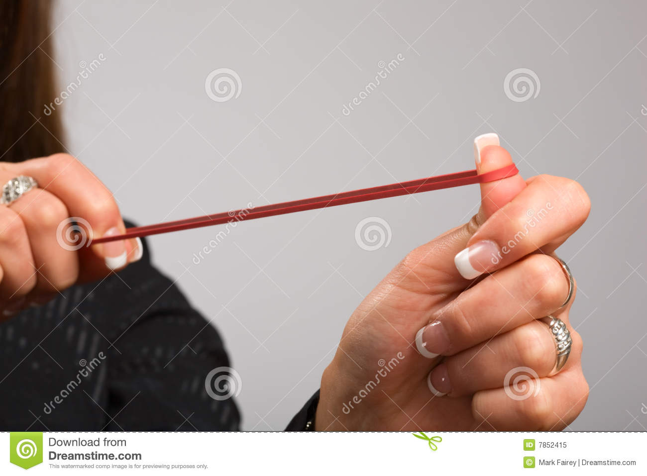 Take aim with rubber band