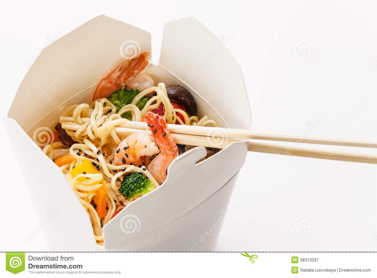 Take away egg noodles royalty free stock photography for Asian cuisine delivery