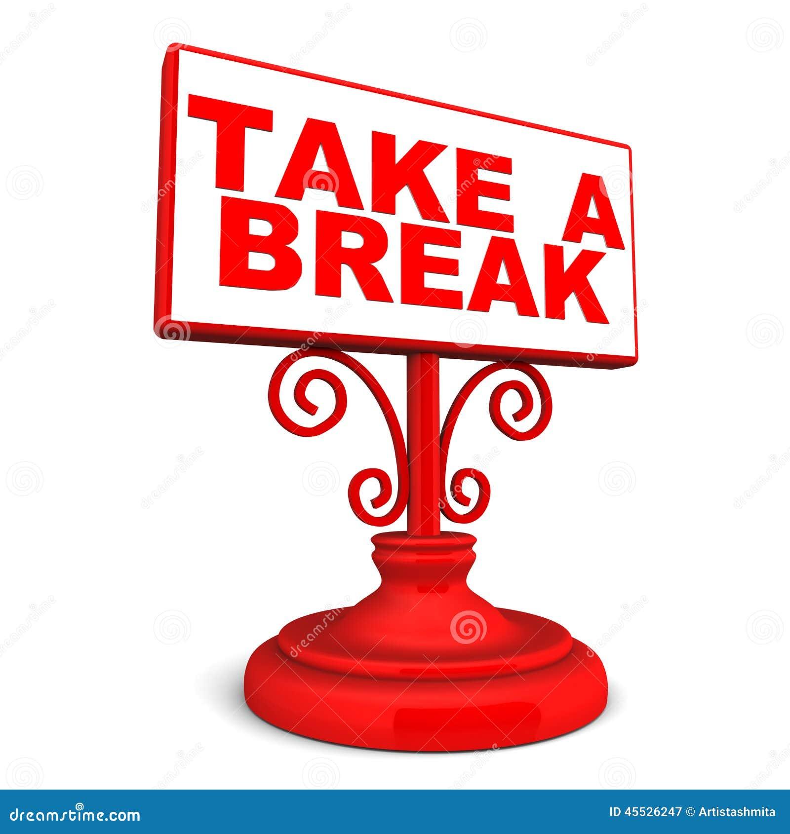 take a break stock illustration image of better