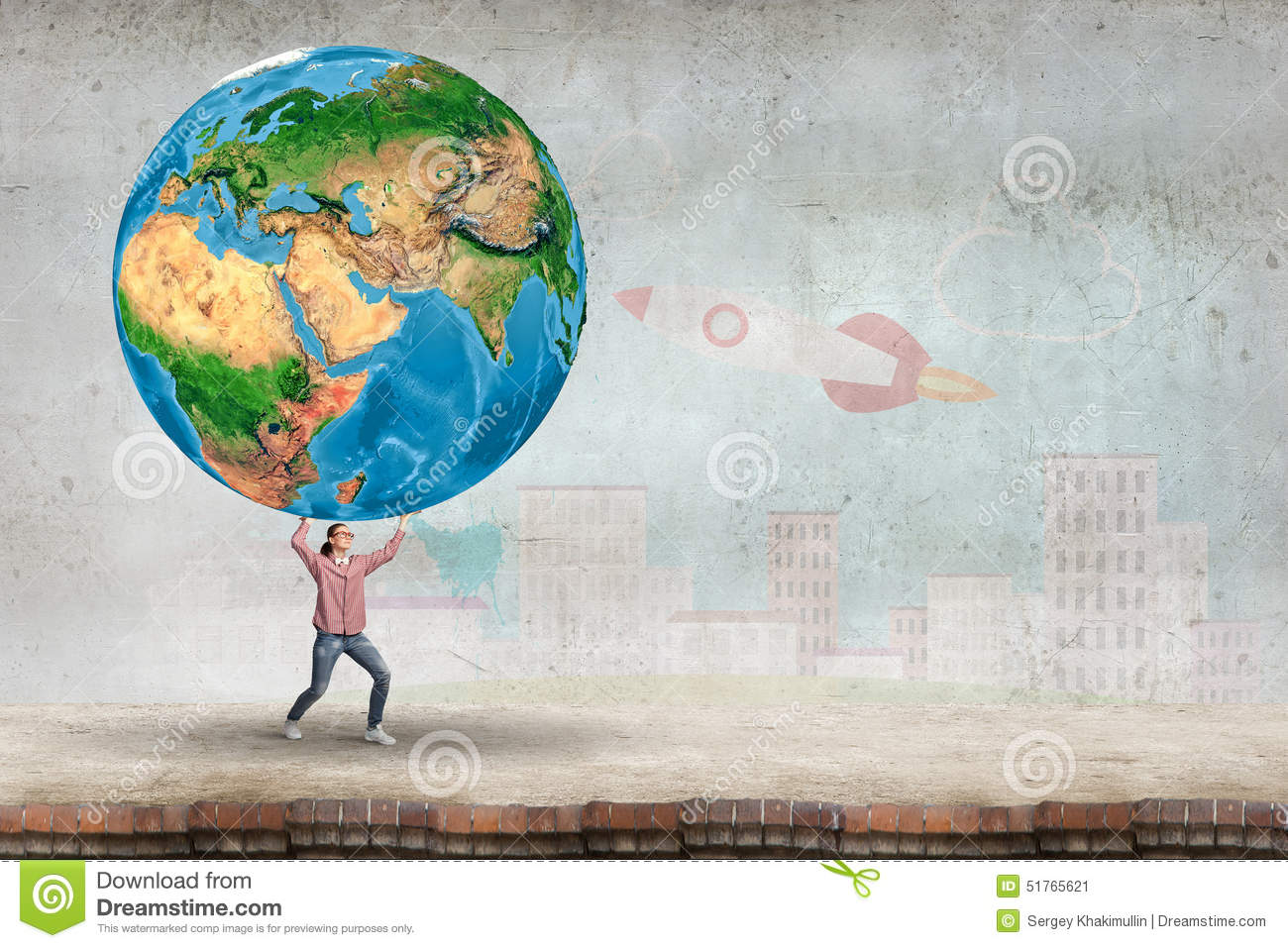 take care of our home planet stock illustration illustration of