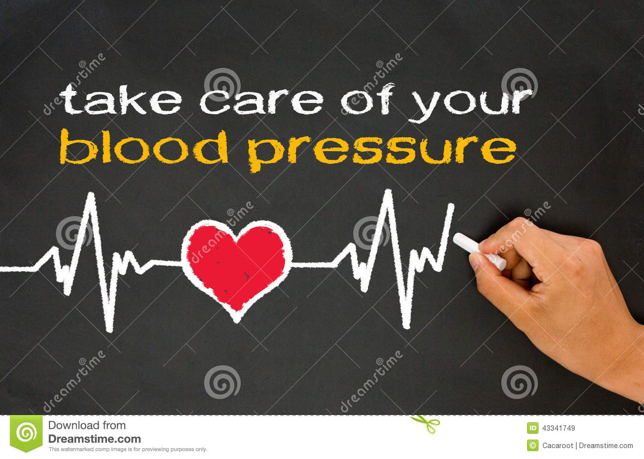 Take care of your blood pressure