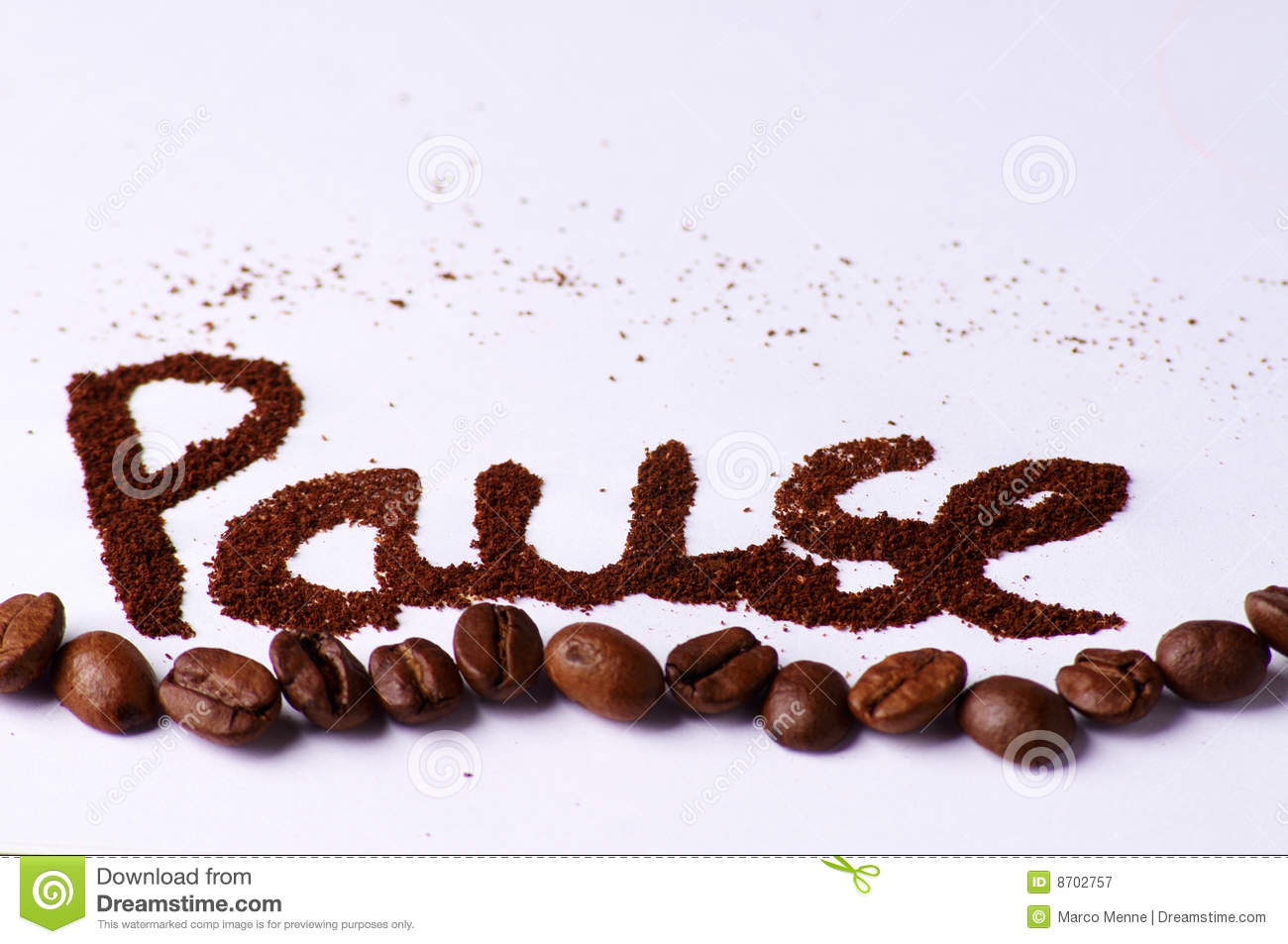 Take A Coffee Break Royalty Free Stock Photography - Image: 8702757