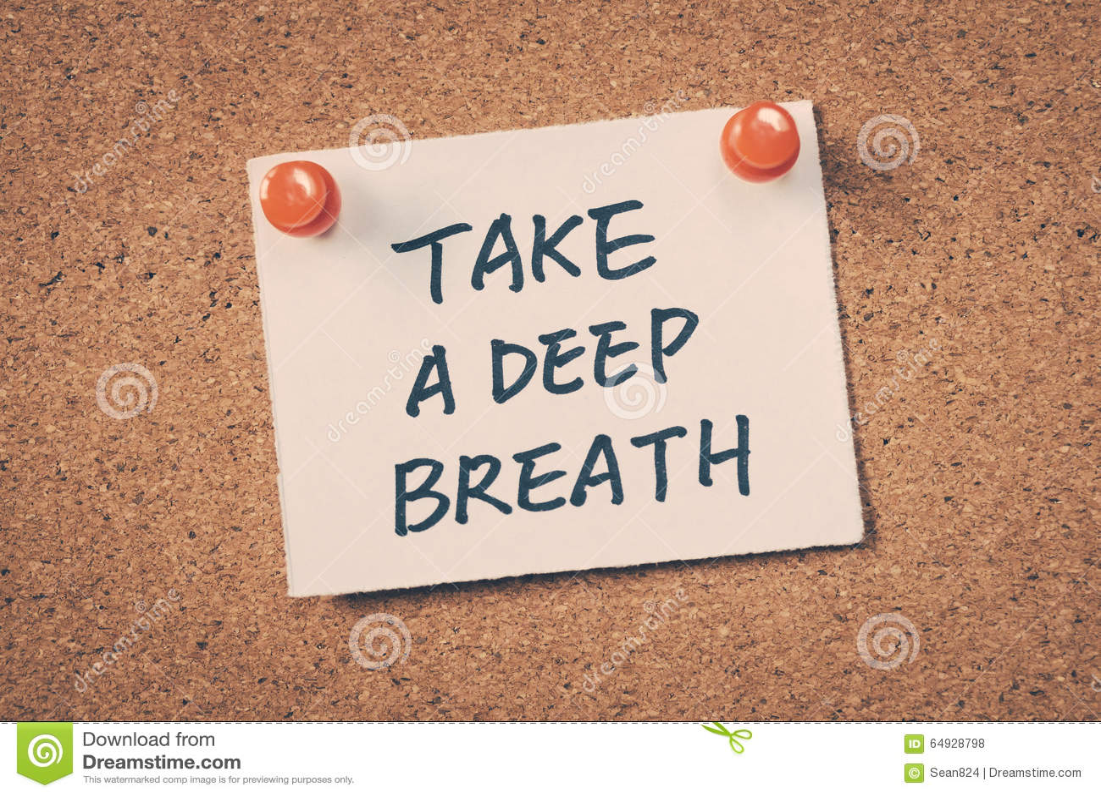 Take A Deep Breath Stock Photo - Image: 64928798