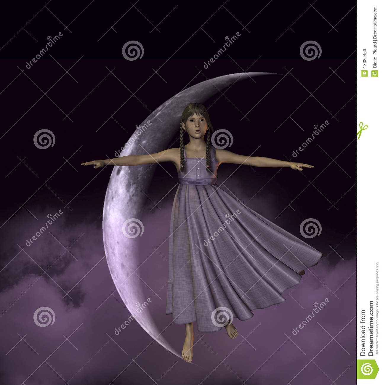 Take Me To The Moon Stock Illustration. Illustration Of