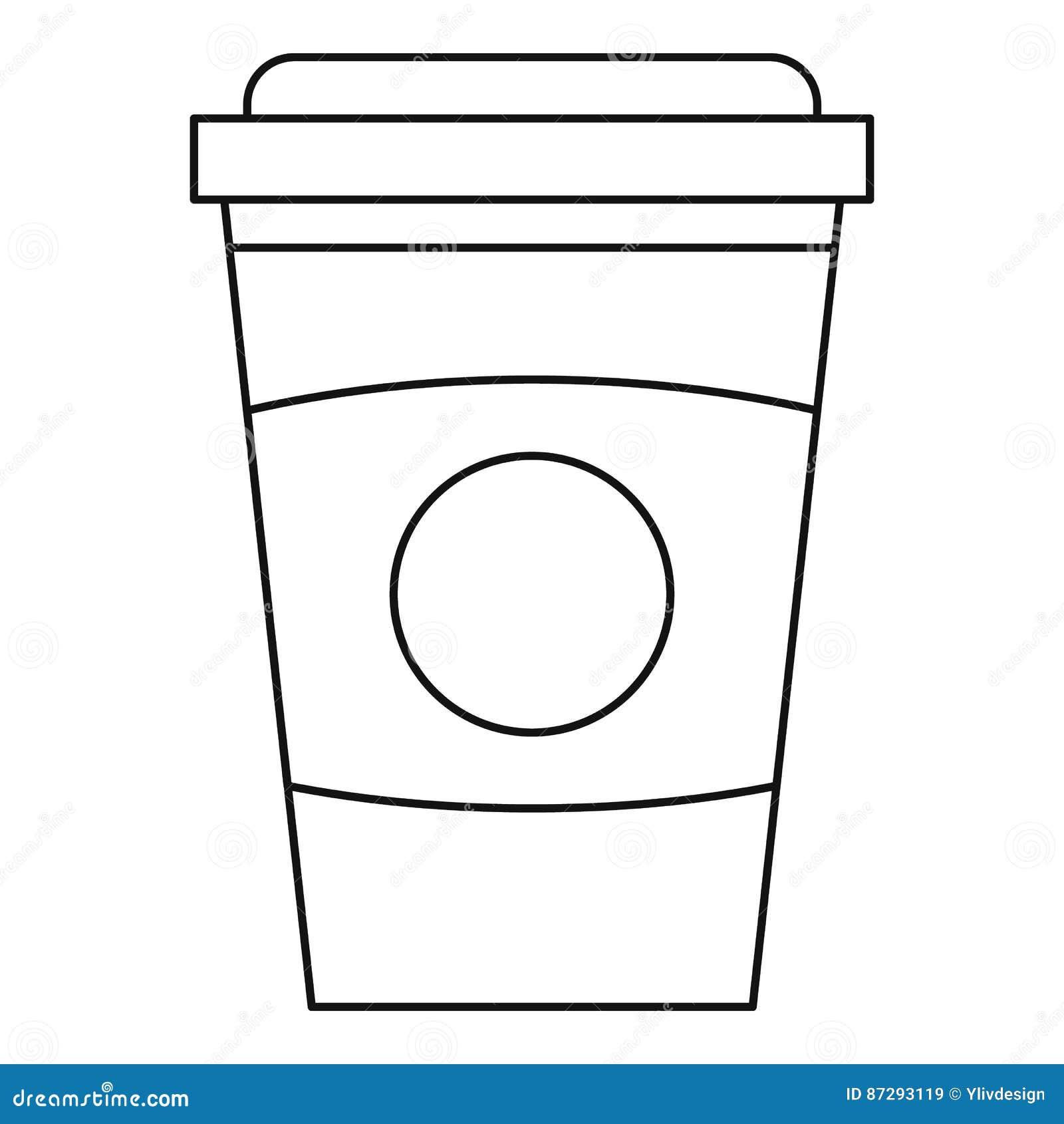 mug outline bing images