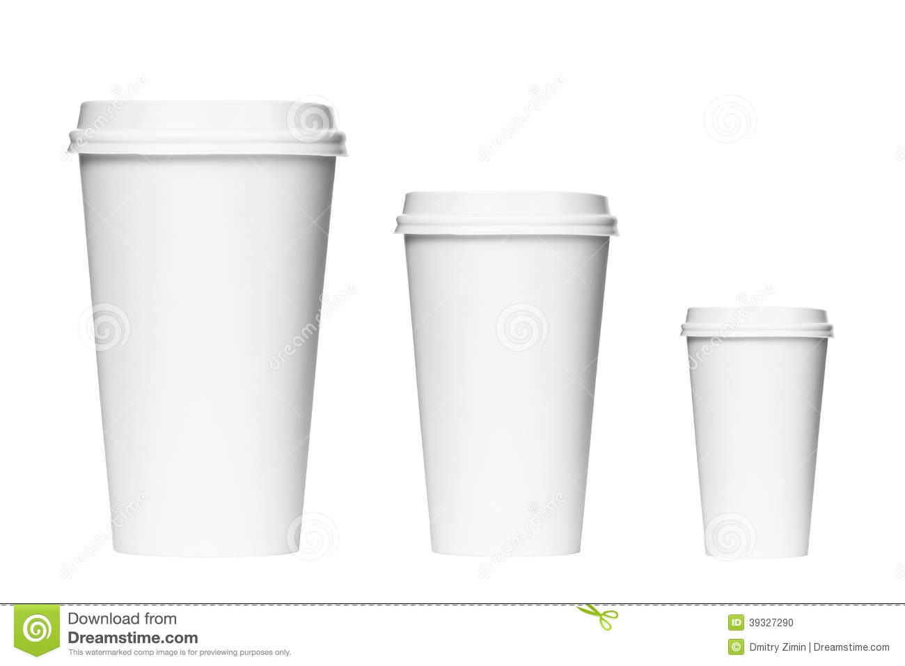 Small Pix Of Large Cups To : Takeaway coffee packaging stock photo image of nobody