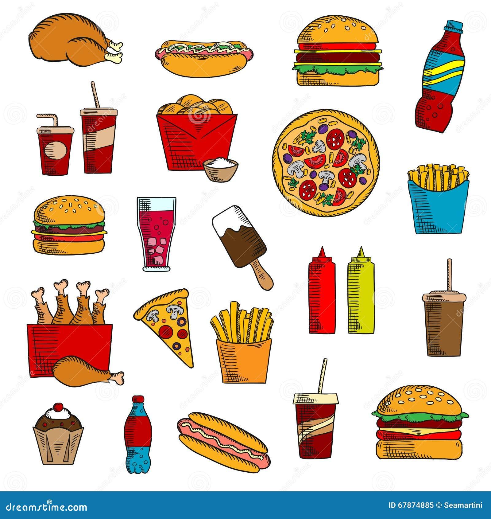 Ice Cream Menu Design Takeaway And Fast Food...