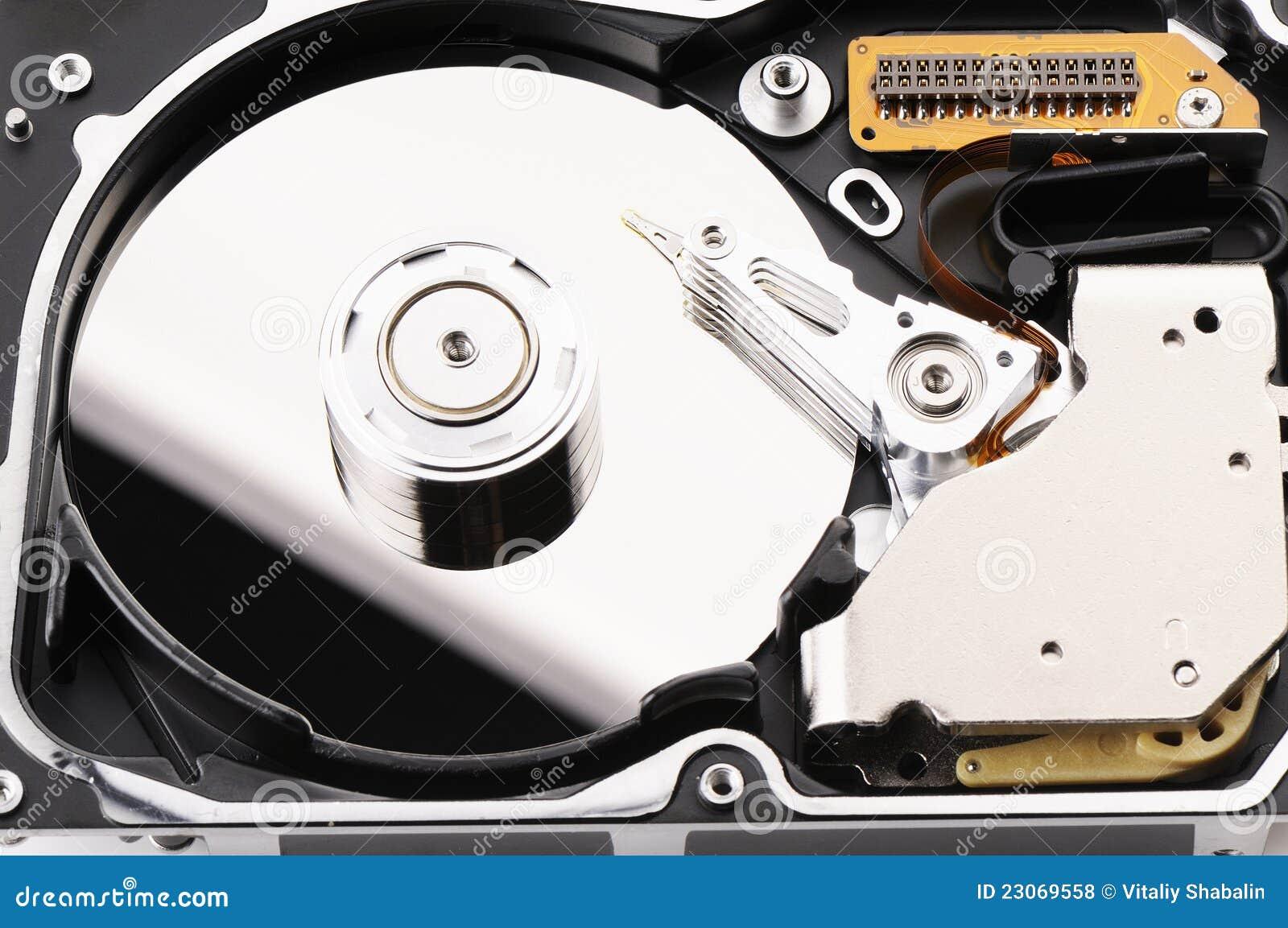 how to take apart a hard drive