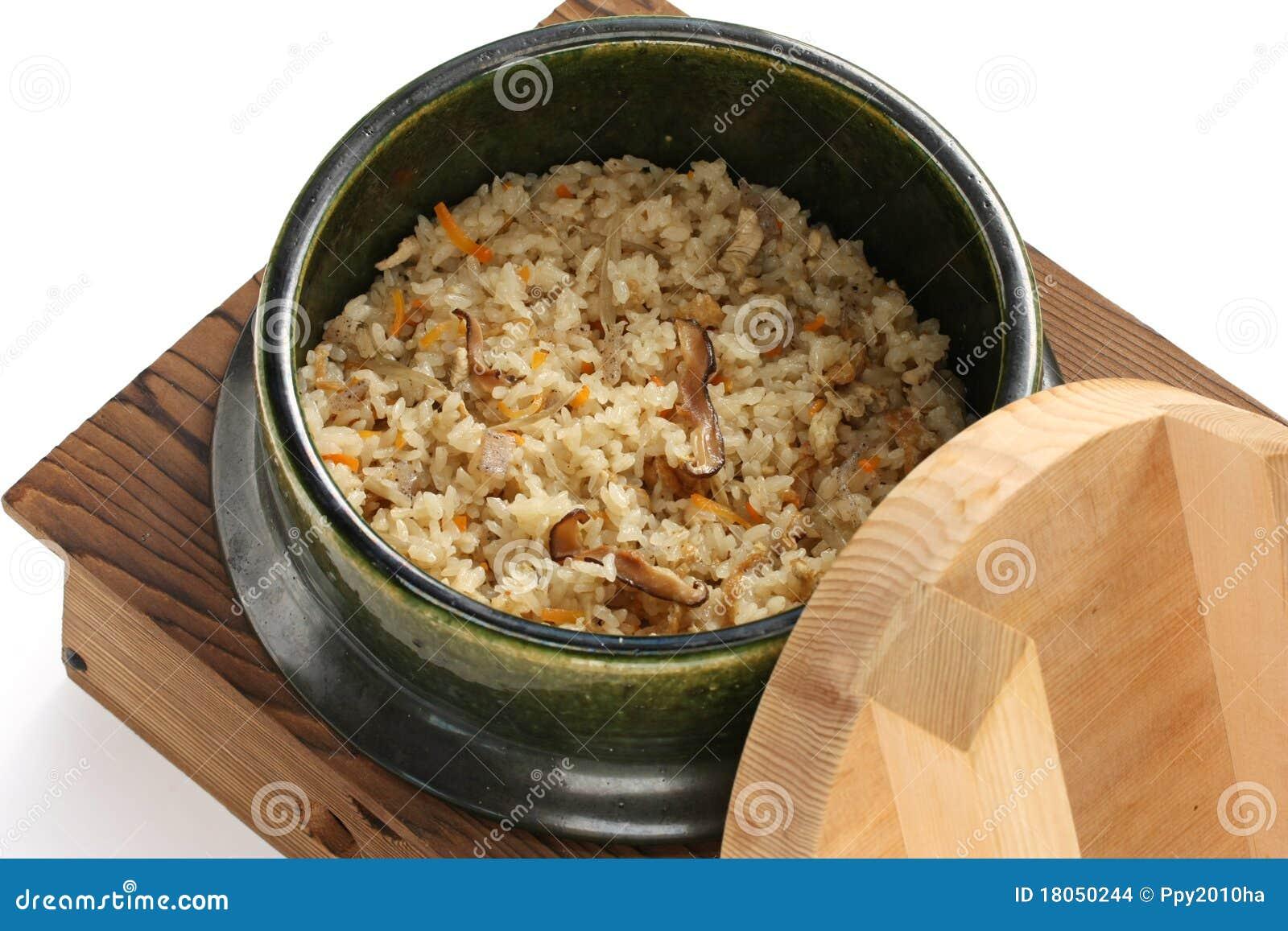 takikomi gohan slow cooker chicken gohan stew mmm yoso gomoku takikomi ...