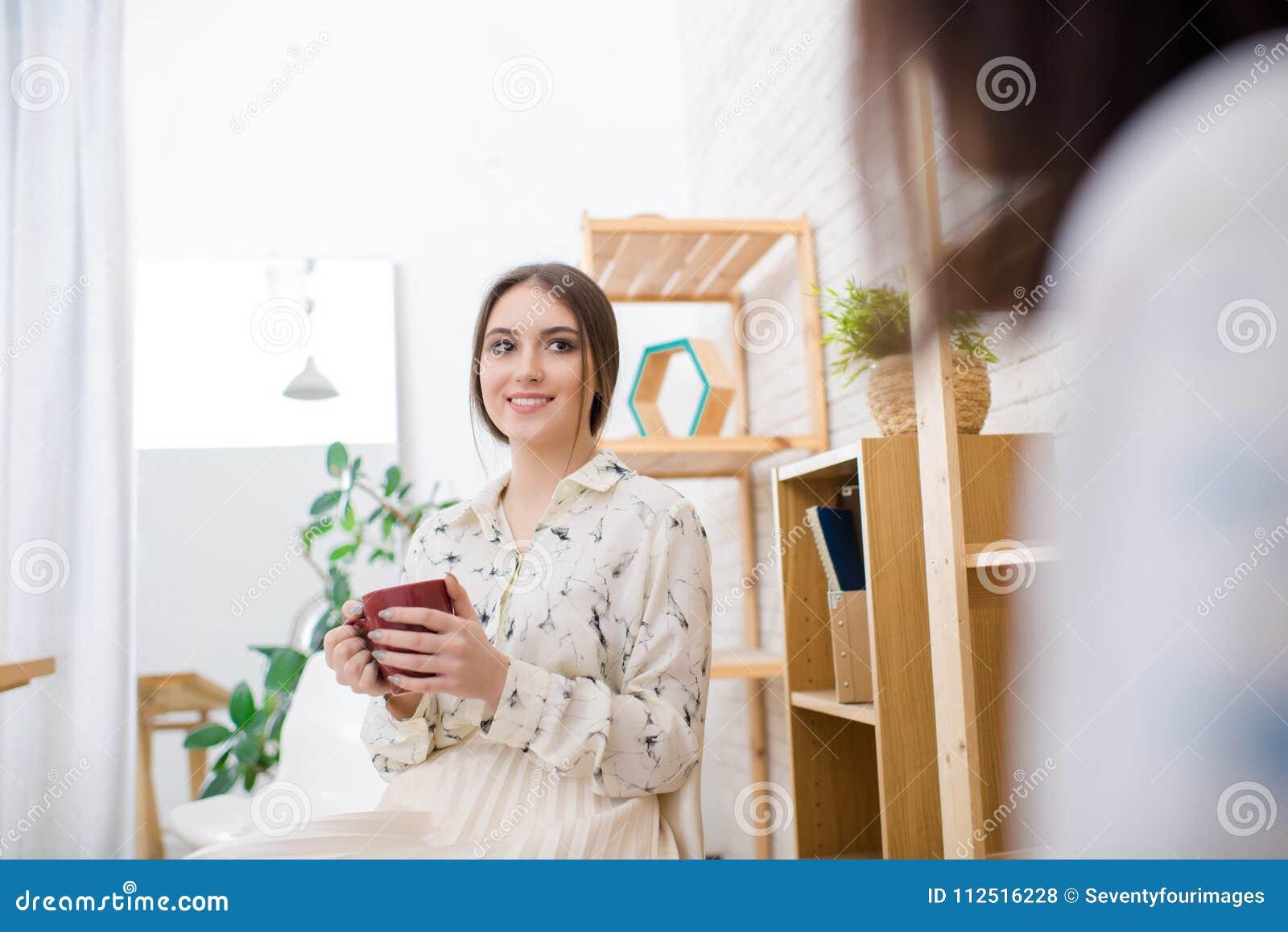 Take Break Coffeebreak : Taking coffee break stock photo image of pretty break
