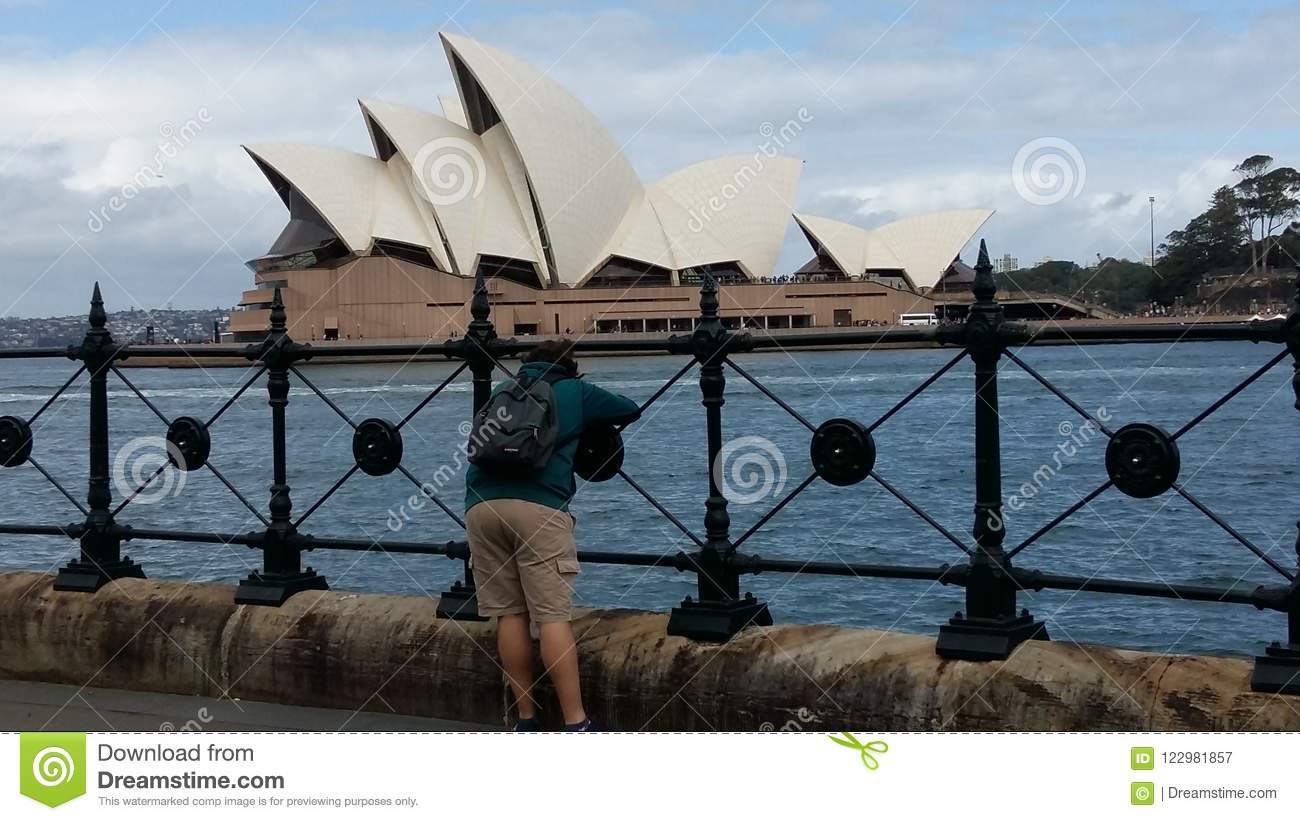 Taking a picture editorial photography  Image of sydney - 122981857