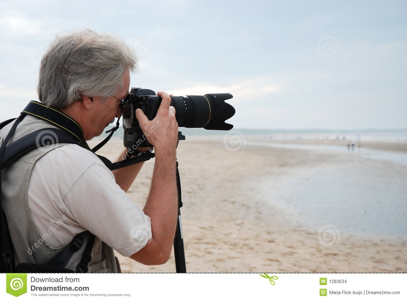 Taking Pictures Stock Images - Image: 1283634