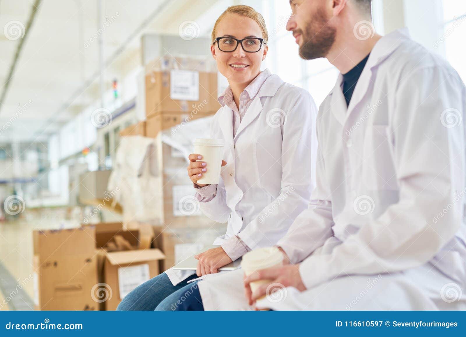 Take Break Coffeebreak : Taking to colleague at coffee break stock image image of milk