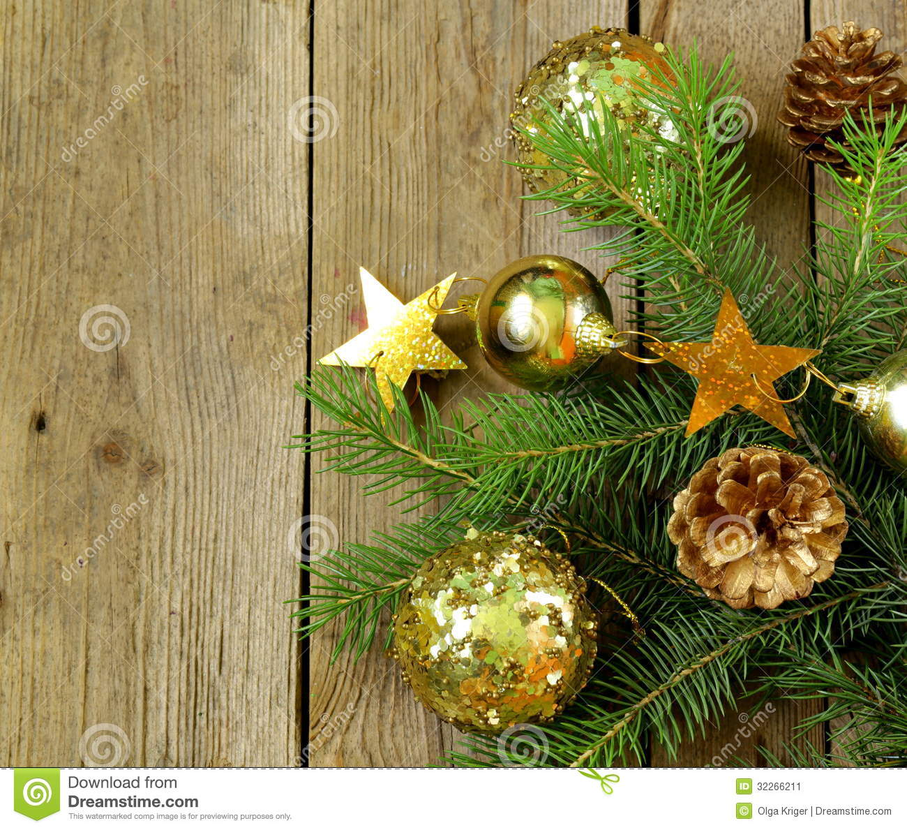 Christmas Tree Branches Decoration