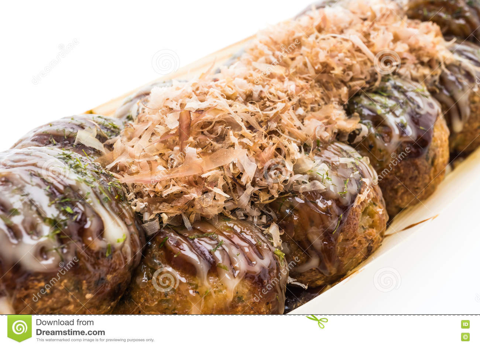 Download Takoyaki стоковое фото. изображение насчитывающей восьминог - 72283236