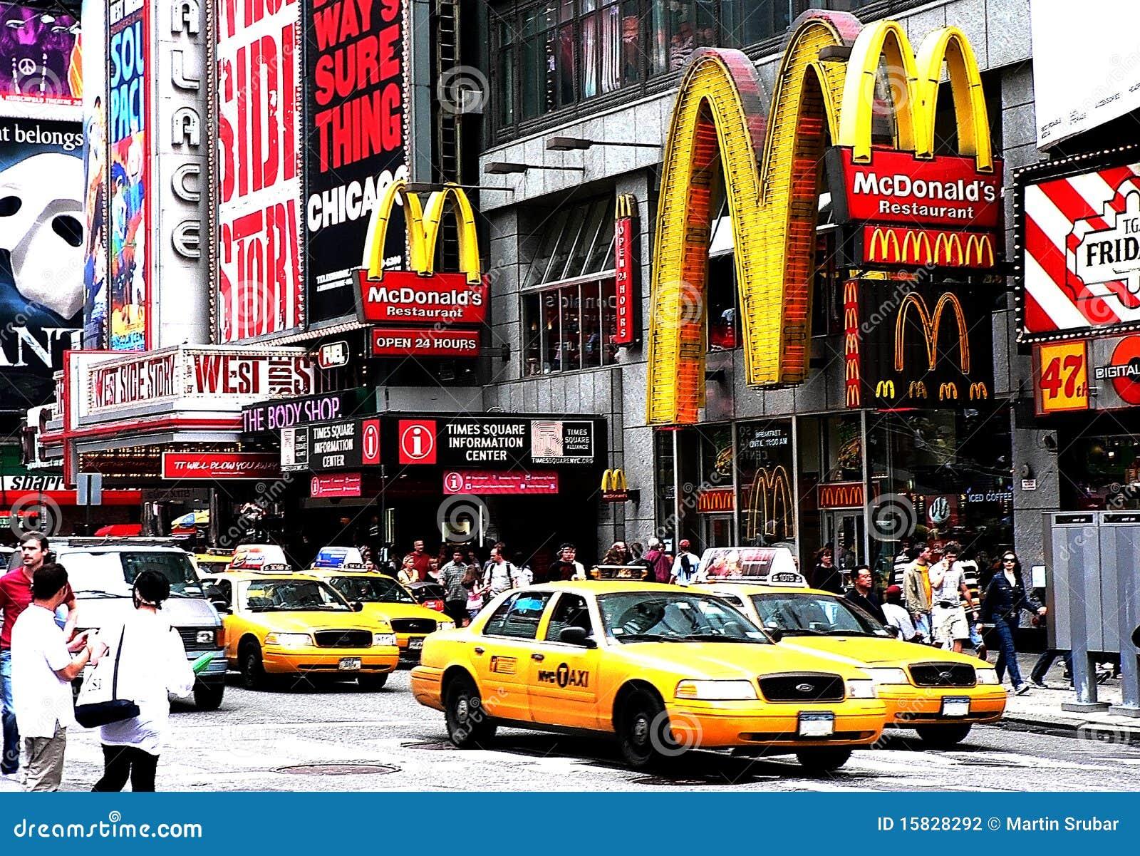 Taksówek donalds mc nowi kwadratowi czas York