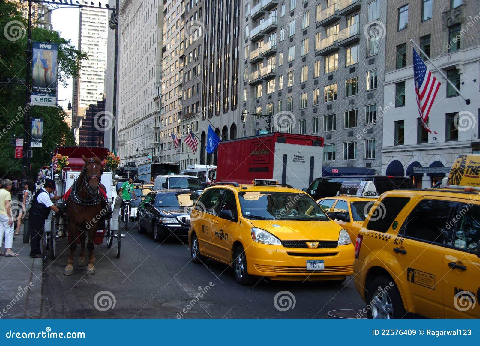 Taksówki karecianego miasta limo nowy riksza York